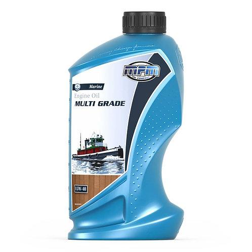 Multigrade Marine 15W-40 motorolie 1 Liter voor normale belasting