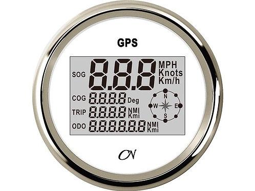 GPS snelheidsmeters met kompas 85mm