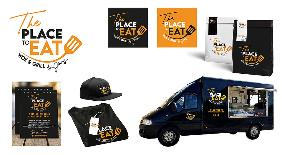 foodtruck logo ma griffe