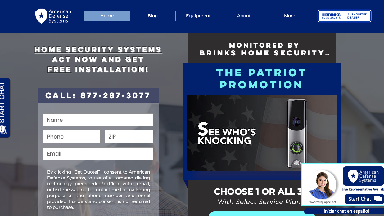 Home Security Systems Dallas Tx American Defense Systems
