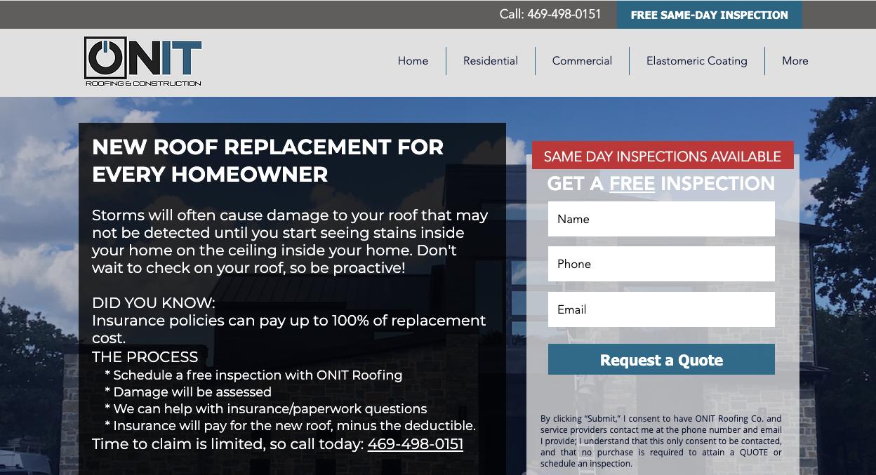 Roofing & Construction | ONIT Roofing & Construction
