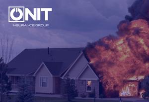 fire insurance home on fire