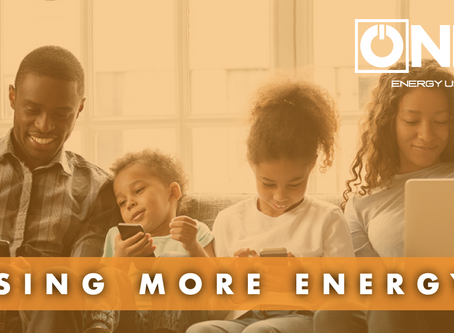 Working from home means more energy use - We can help!