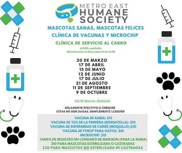 Vaccine, Microchip Clinic- Spanish.png