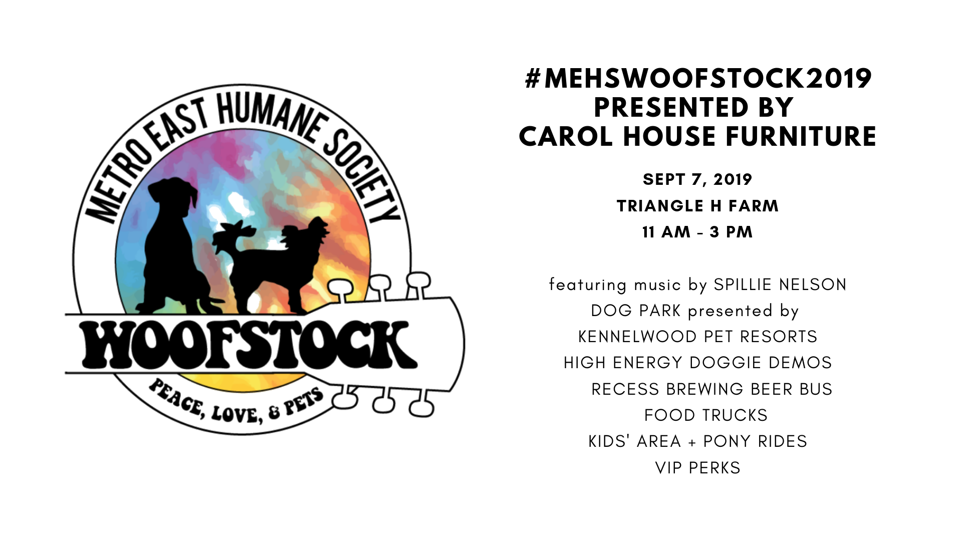 Mehs Woofstock 2019 Presented By Carol House Furniture
