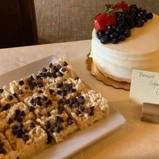 Bonus: Chantilly Cake & Rice Crispy Treats