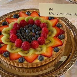 #4 Mon Ami Fresh Fruit Tart