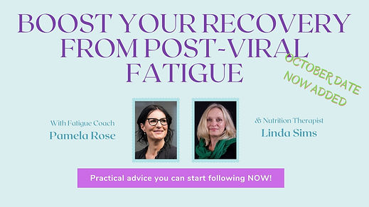Boost your recovery from post-viral fati