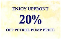 20% petrol