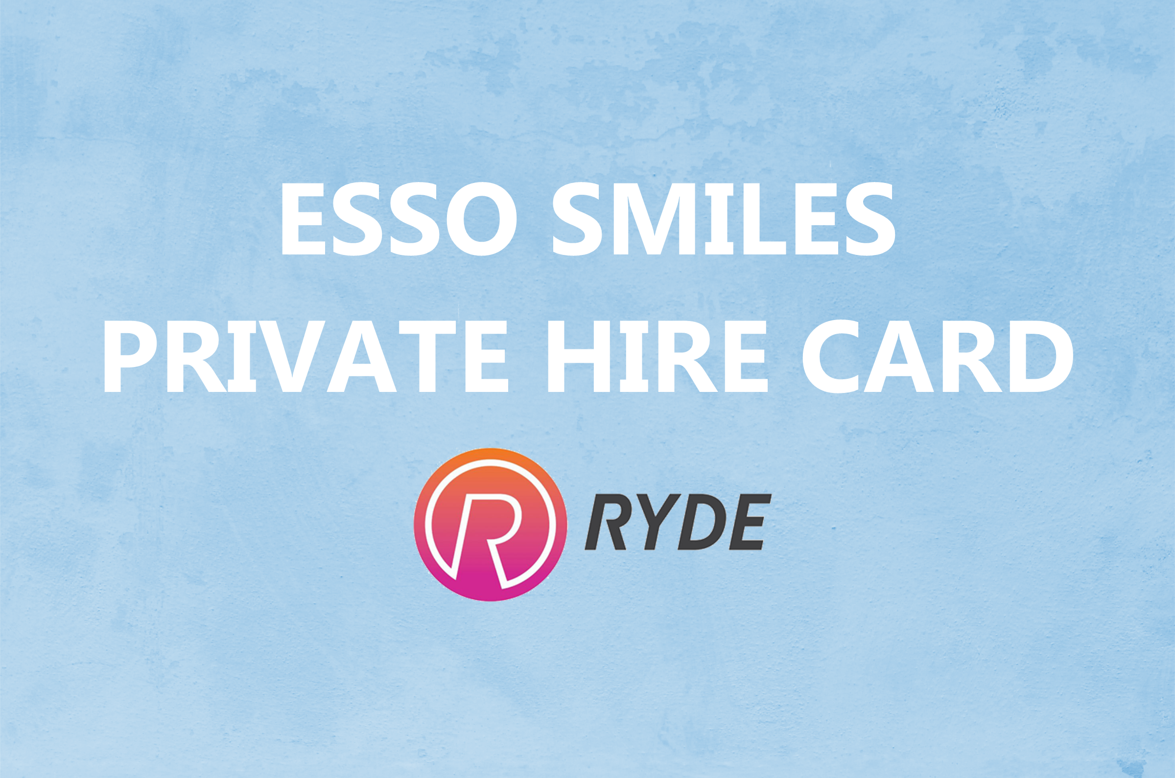 Esso Smiles PH Card for Ryde