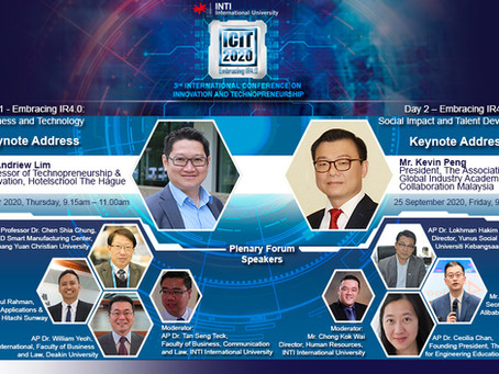 INTI International Conference on Innovation & Technopreneurship