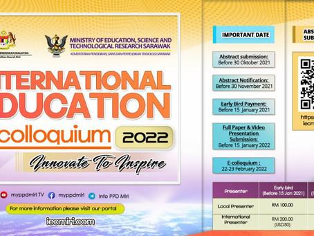 美里教育廳將於2022年主辦線上研討會,歡迎參加!International Education E-colloquium 2022