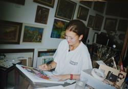 Baruch Elichay studio, Haifa, Israel