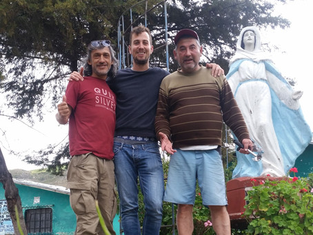 Strangers Connecting In Huaraz