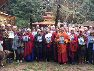 Khenpo Gives 6 Bardo Teaching at Ewam Kusum Ling in Kneeland, CA