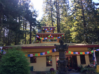Tulku Sang Ngag Rinpoche consecrates new Buddhist Temple at Ewam Kusum Ling in Northern California
