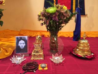 Terton Pedgyl Lingpa's Yumka Khandro Gongdue Drub Chod accomplished at Ewam Kusum Ling, USA