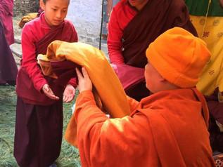 Annual Drupchen Chugom Monestary Tashi Yangtse, Bhutan