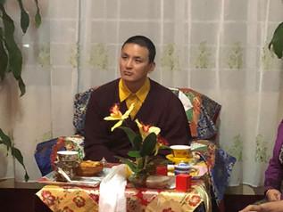 Yangsi Rinpoche visits Shillong India