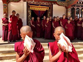April Guru Rinpoche Day at Tashi Choling
