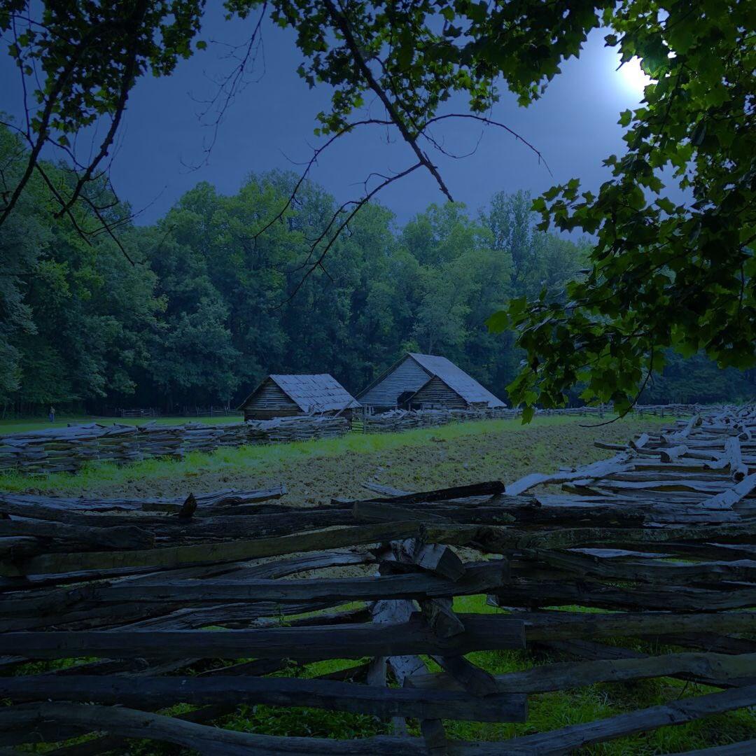 Night on an Appalachian