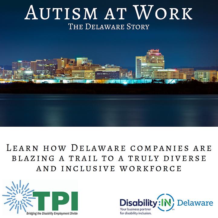 Autism at Work invitation