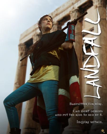 Landfall Promotional Poster
