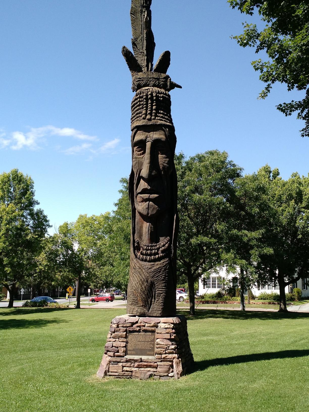 Chief Gray Lock Burlington Vermont Legend of Greylock