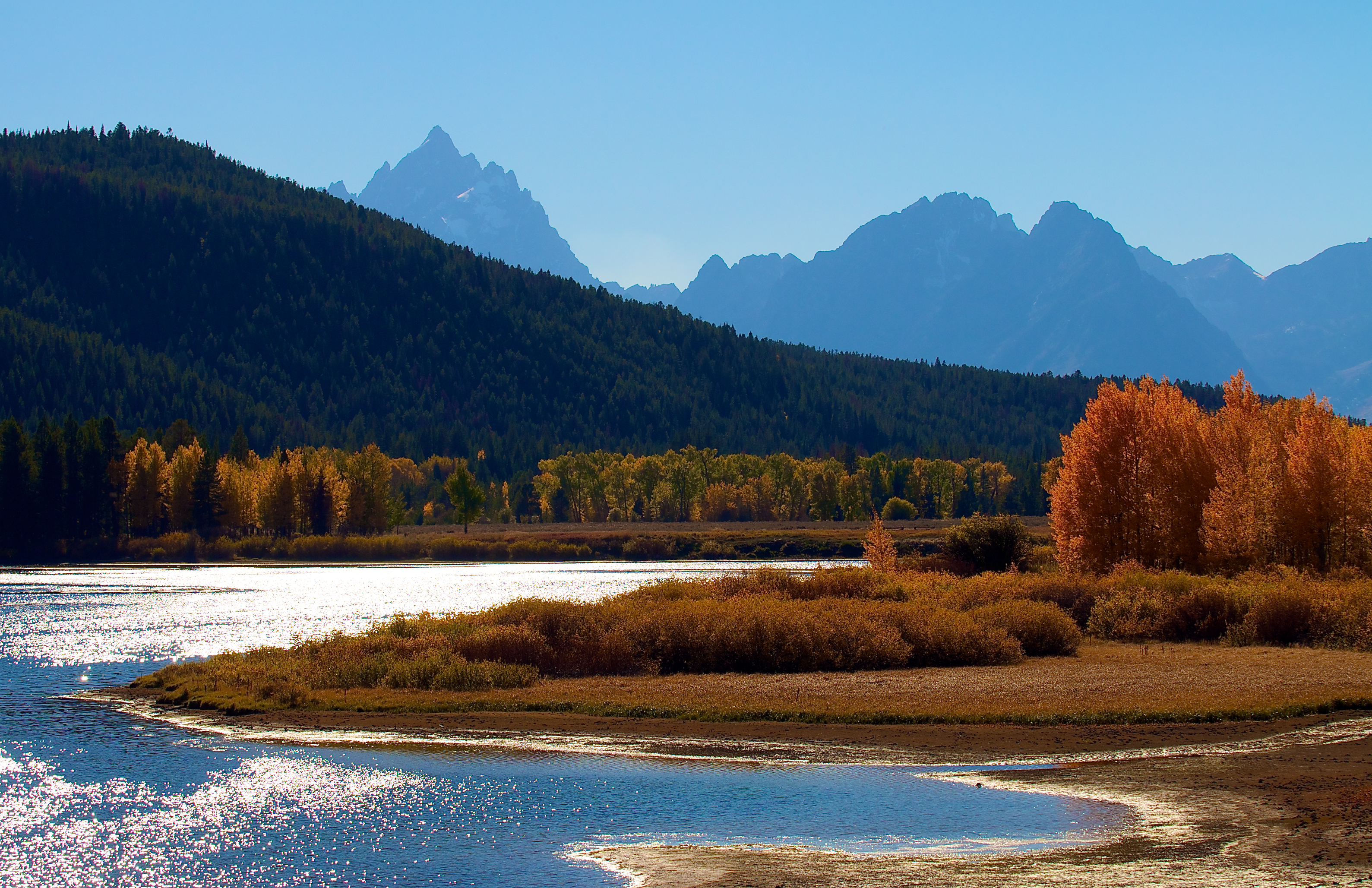 Snake River, Grand Teton, USA