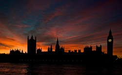 Houses of Parliament Sunset, UK