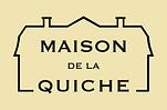 Logo Maison de la Quiche  negro-amarillo