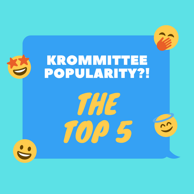 KRommittee Popularity: The Top 5
