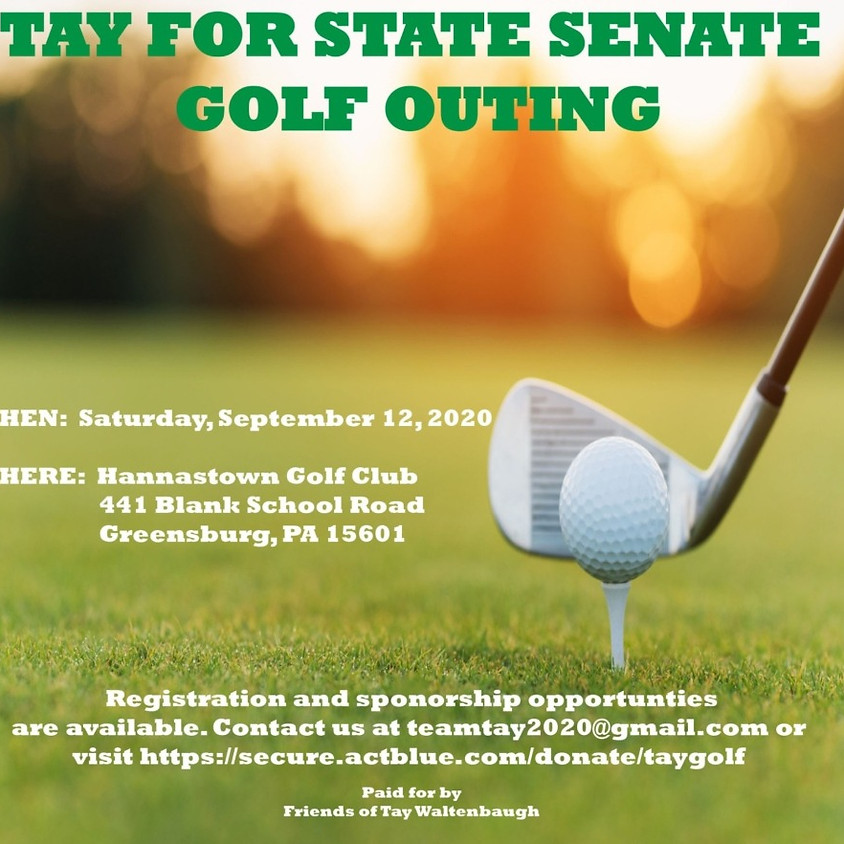 Tay for State Senate Golf Outing