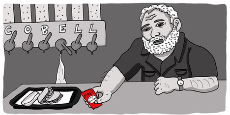 """Ernest Hemingway at the Taco Bell Cantina"""