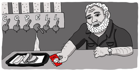 """""""Ernest Hemingway at the Taco Bell Cantina"""""""