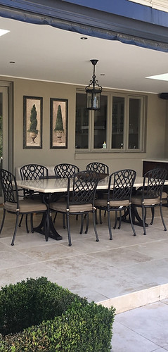 Alfresco 3 Filled and Honed Ivory Traver