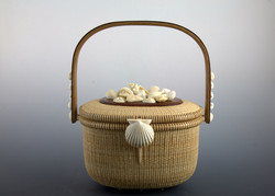 Covered basket 8.5 inch