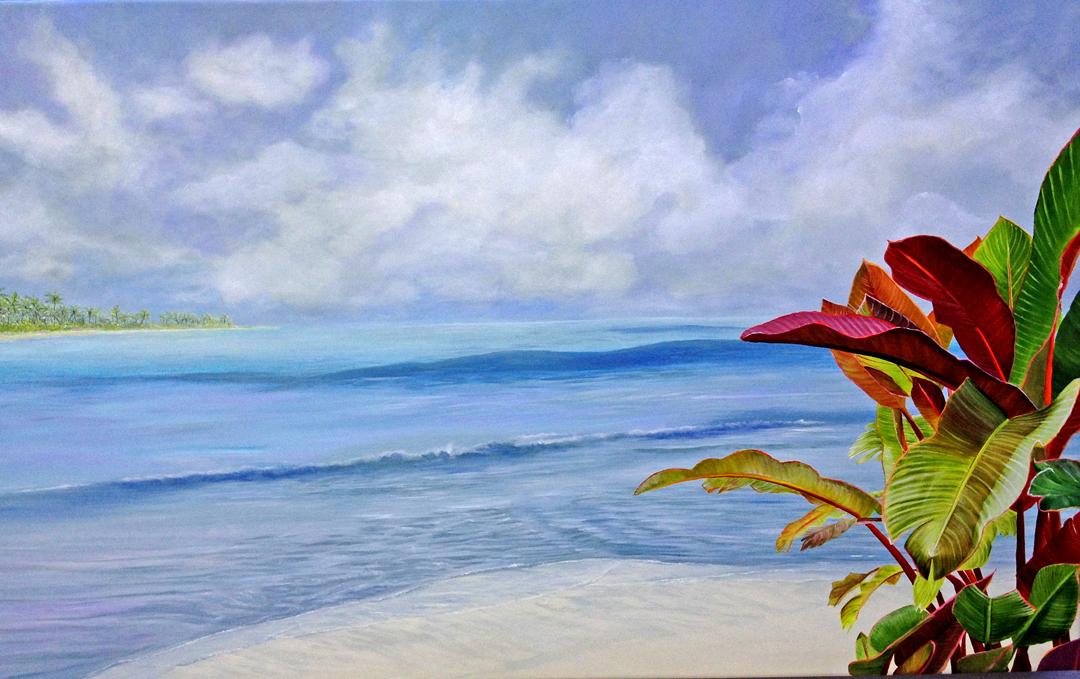 Lynn Fecteau - Ocean Musings, embellishe