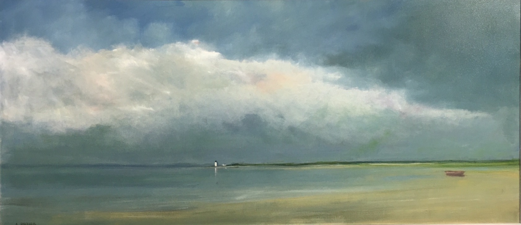 Anne Packard - The Point 32 x 72