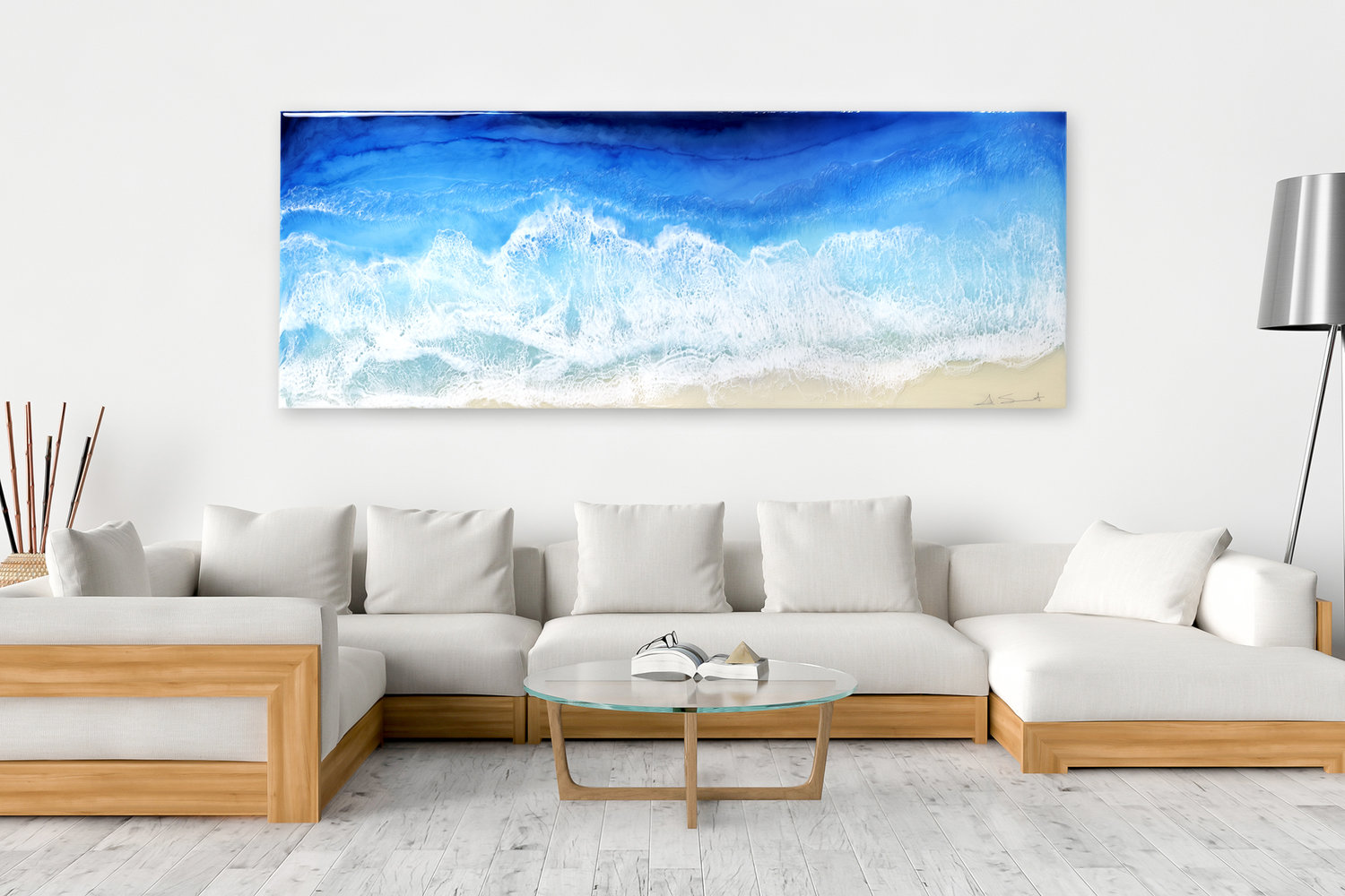 Anna Sweet - Resin Wave, large format