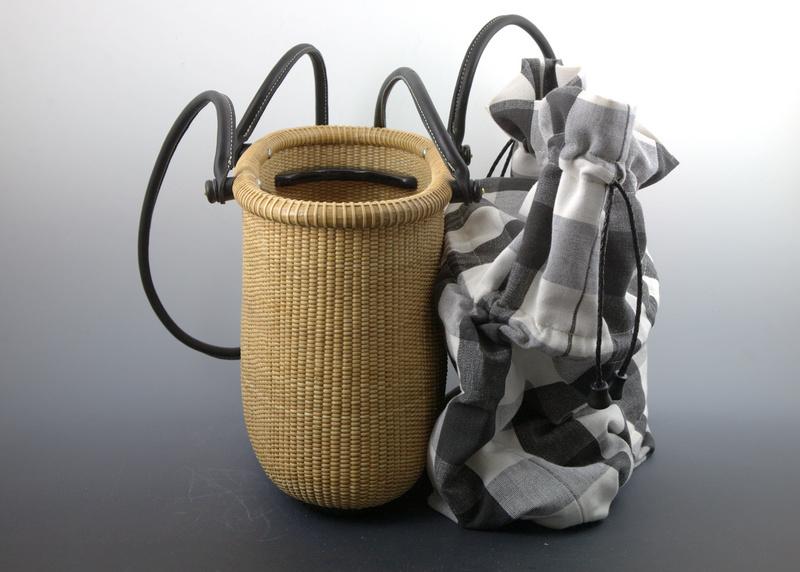 Tote basket 14 inch - ebony 2