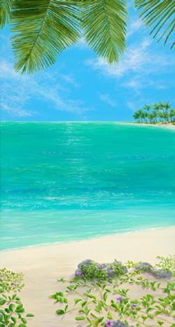 Lynn Fecteau - A Calm, embellished gicle