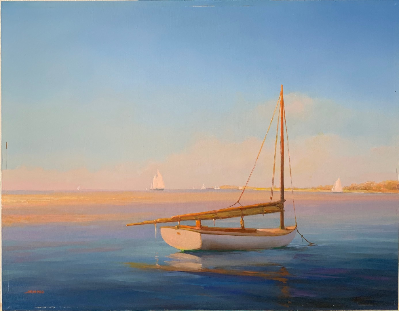 Cape Dawn 14x18 Oil on Panel