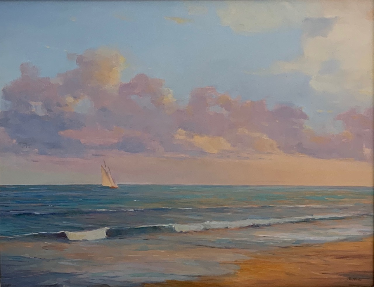 Of Light & Surf 11x14 Oil on Panel