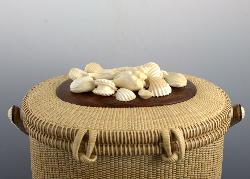 Covered basket 8.5 inch 3