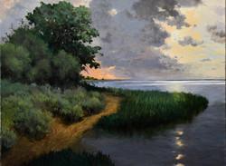 H Bartlett - Morning Light over the Bay