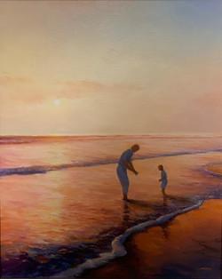 Treasure Hunt 20x16 Oil on Canvas
