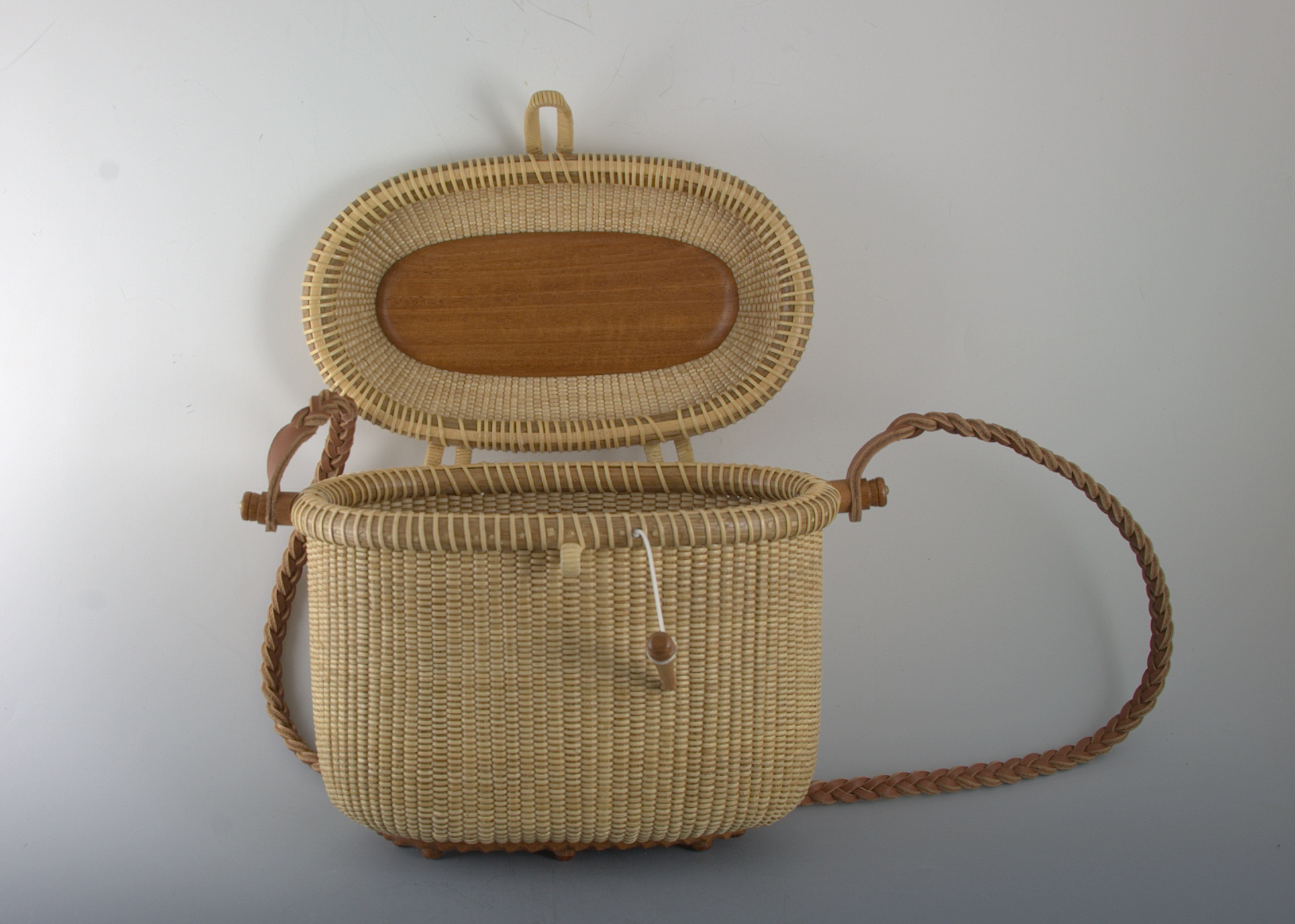 Tote, covered, 8 inch 2