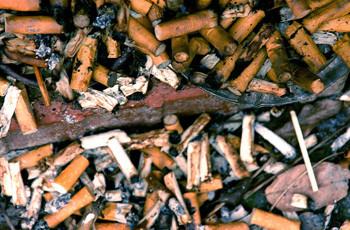 Вред курения.