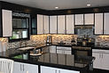 Tiled Backsplash, Black Granite Countertops